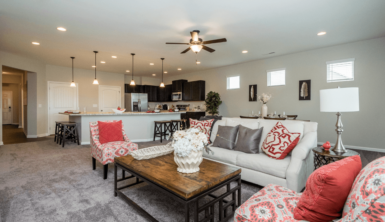 Living Area featured in The Campbell By Smith Douglas Homes in Raleigh-Durham-Chapel Hill, NC
