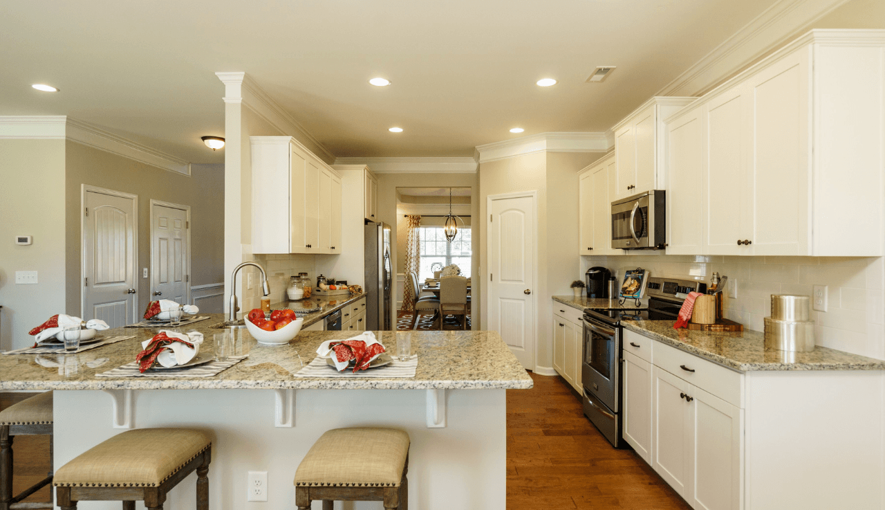 Kitchen featured in The Ellijay By Smith Douglas Homes in Raleigh-Durham-Chapel Hill, NC