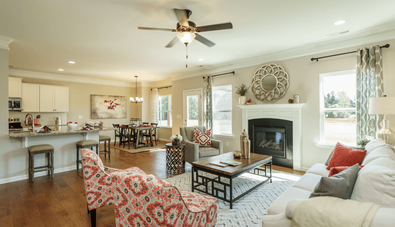 Living Area featured in The Ellijay By Smith Douglas Homes in Raleigh-Durham-Chapel Hill, NC