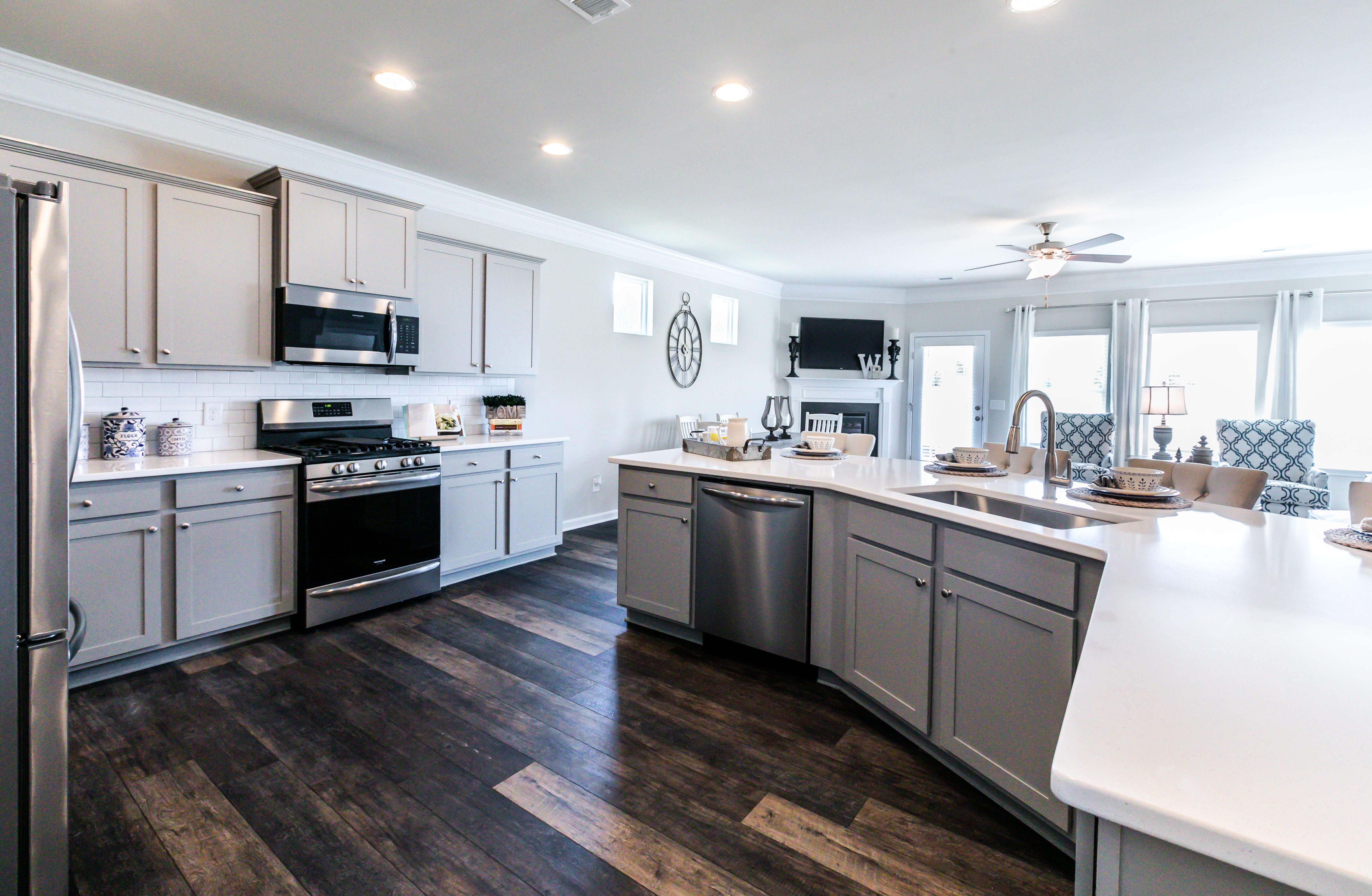 Kitchen featured in The Campbell By Smith Douglas Homes in Birmingham, AL