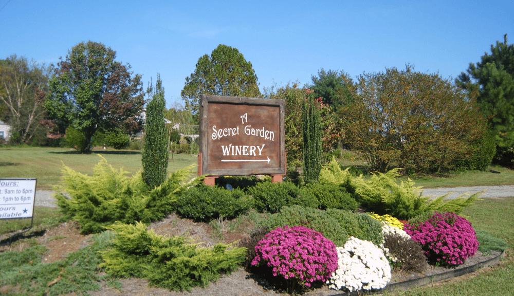 Close to A Secret Garden Winery