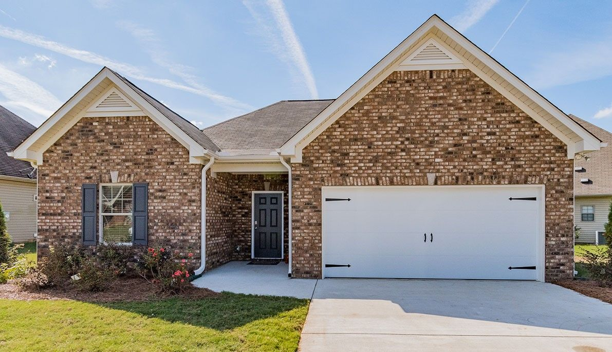 Exterior featured in The Lathem By Smith Douglas Homes in Huntsville, AL