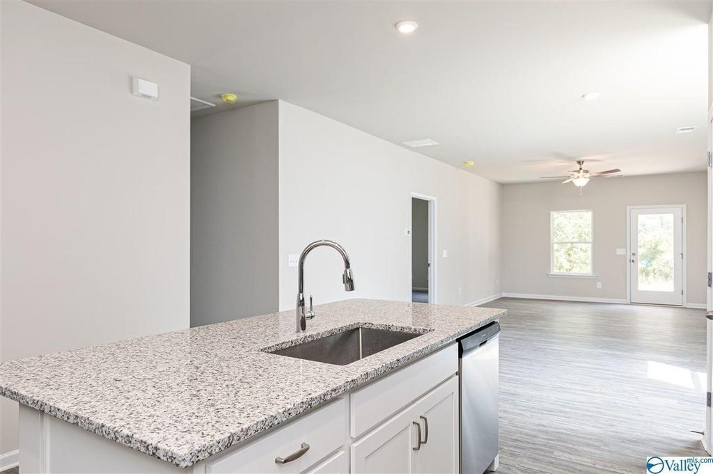 Kitchen featured in The Piedmont D By Smith Douglas Homes in Huntsville, AL