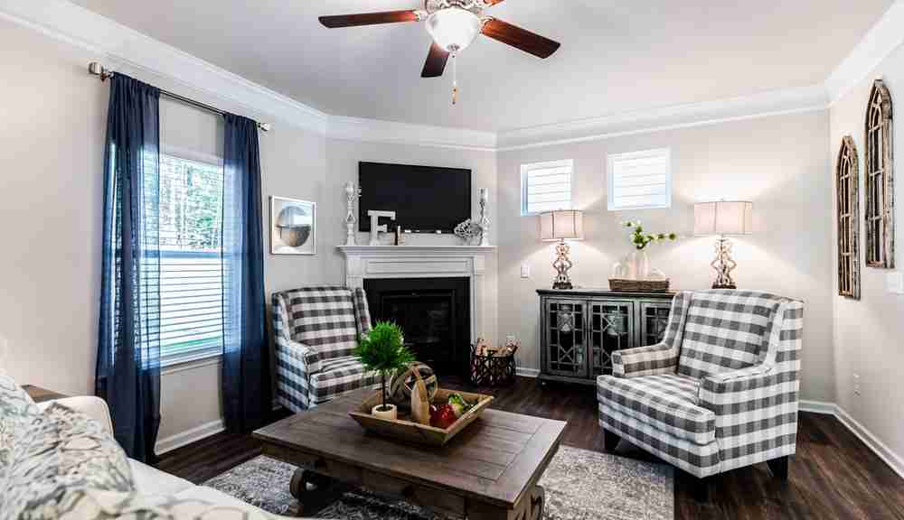 The Braselton - Family Room