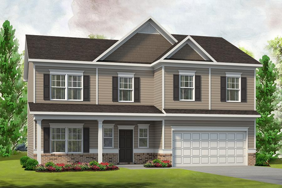 Exterior featured in The Morgan By Smith Douglas Homes in Charlotte, NC