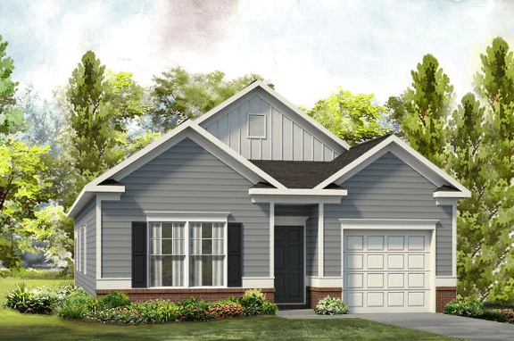 Exterior featured in The Reynolds By Smith Douglas Homes in Birmingham, AL
