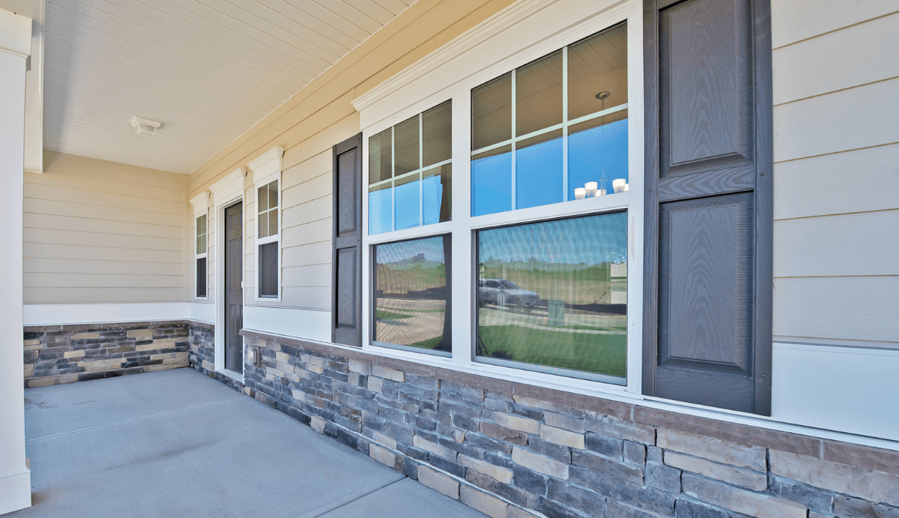 Exterior featured in The Morgan By Smith Douglas Homes in Fayetteville, NC