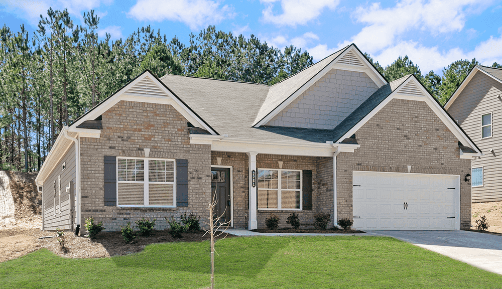 The Avery Home Plan By Smith Douglas Homes In Emerald Oaks Estates