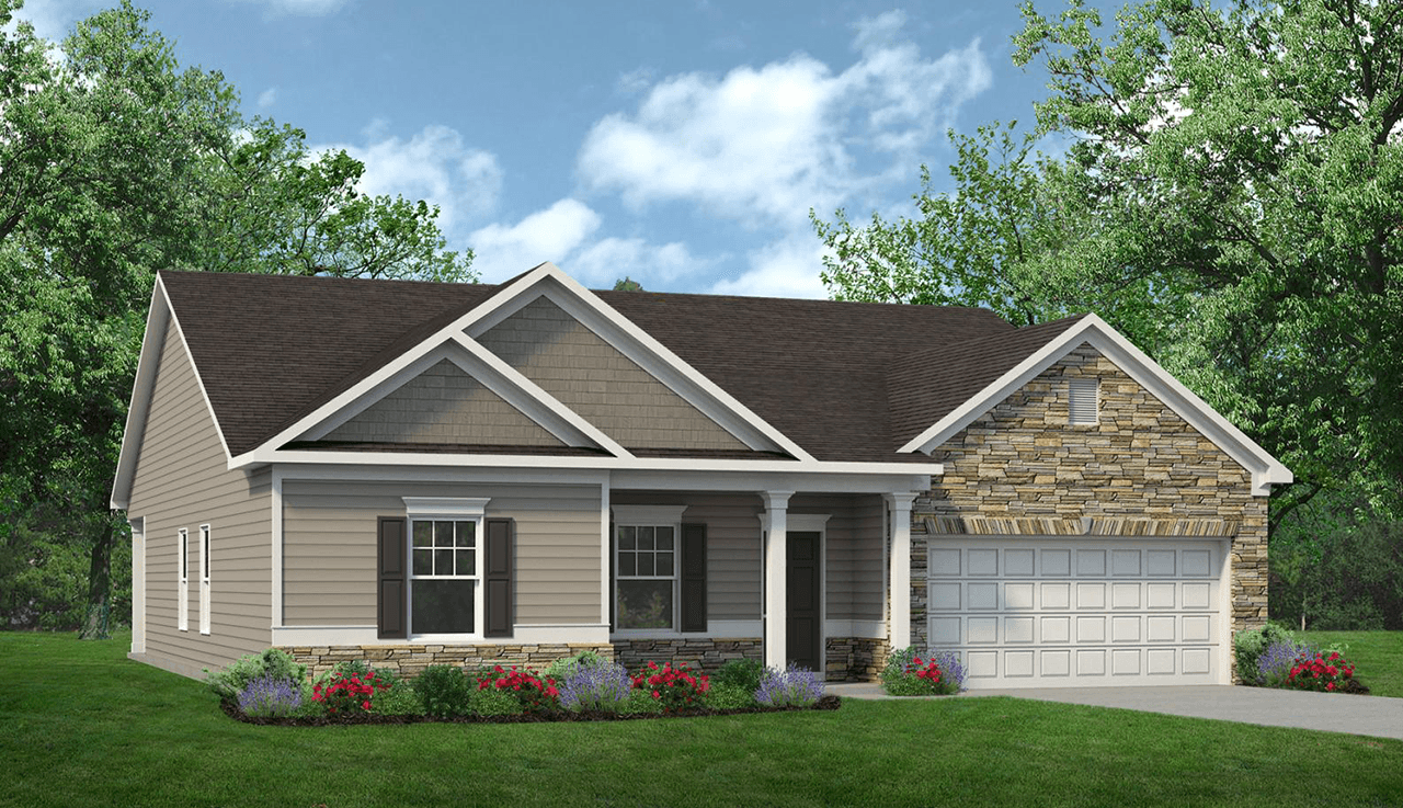 Exterior featured in The Avondale By Smith Douglas Homes in Atlanta, GA