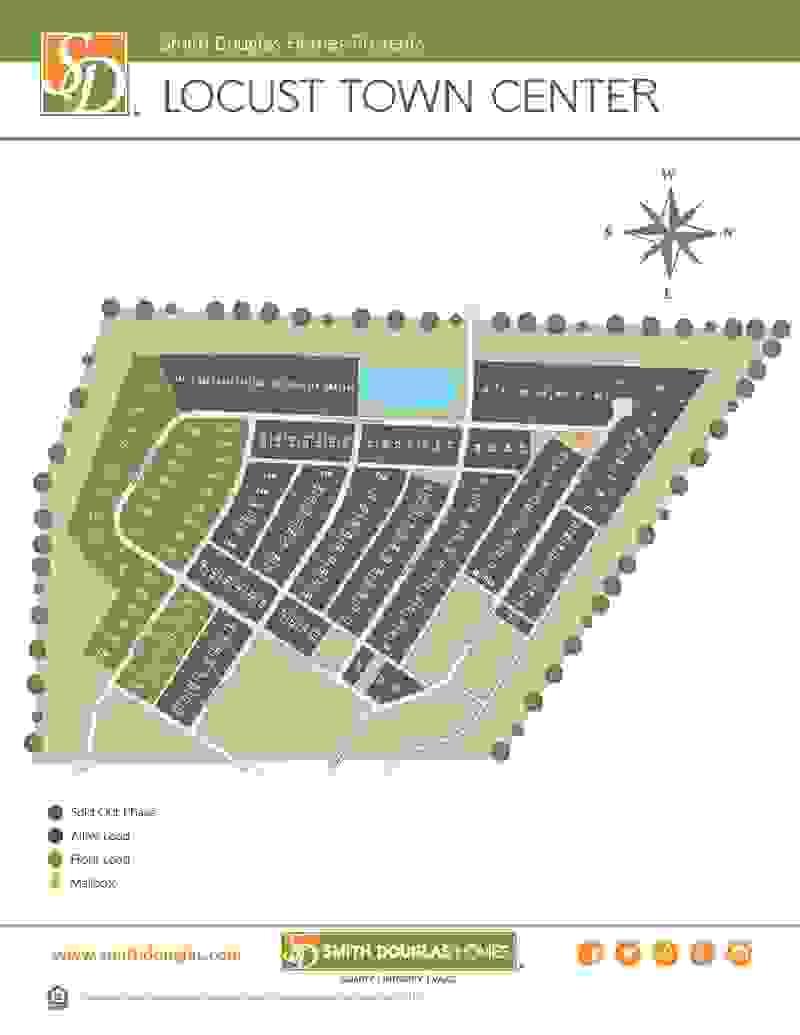 Locust Town Center Sitemap