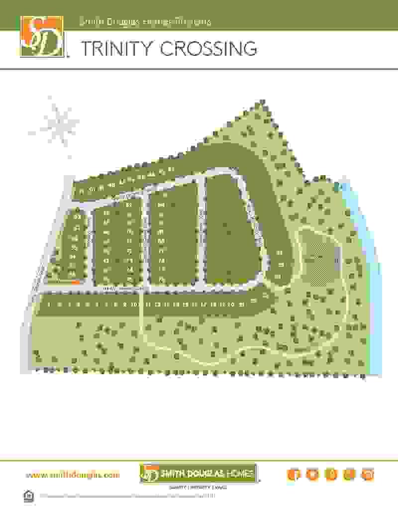 Trinity Crossing Sitemap