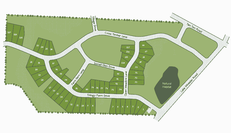 Legacy Farm Site Map