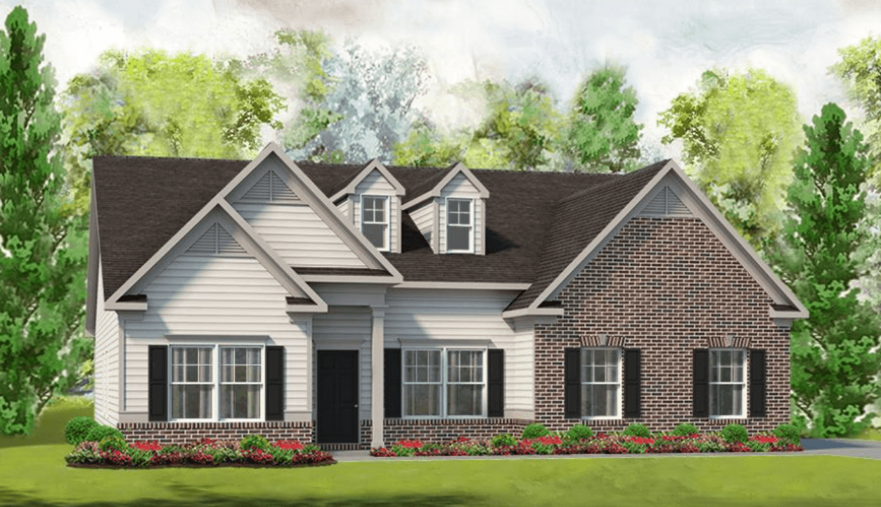 Exterior featured in The Avery By Smith Douglas Homes in Raleigh-Durham-Chapel Hill, NC