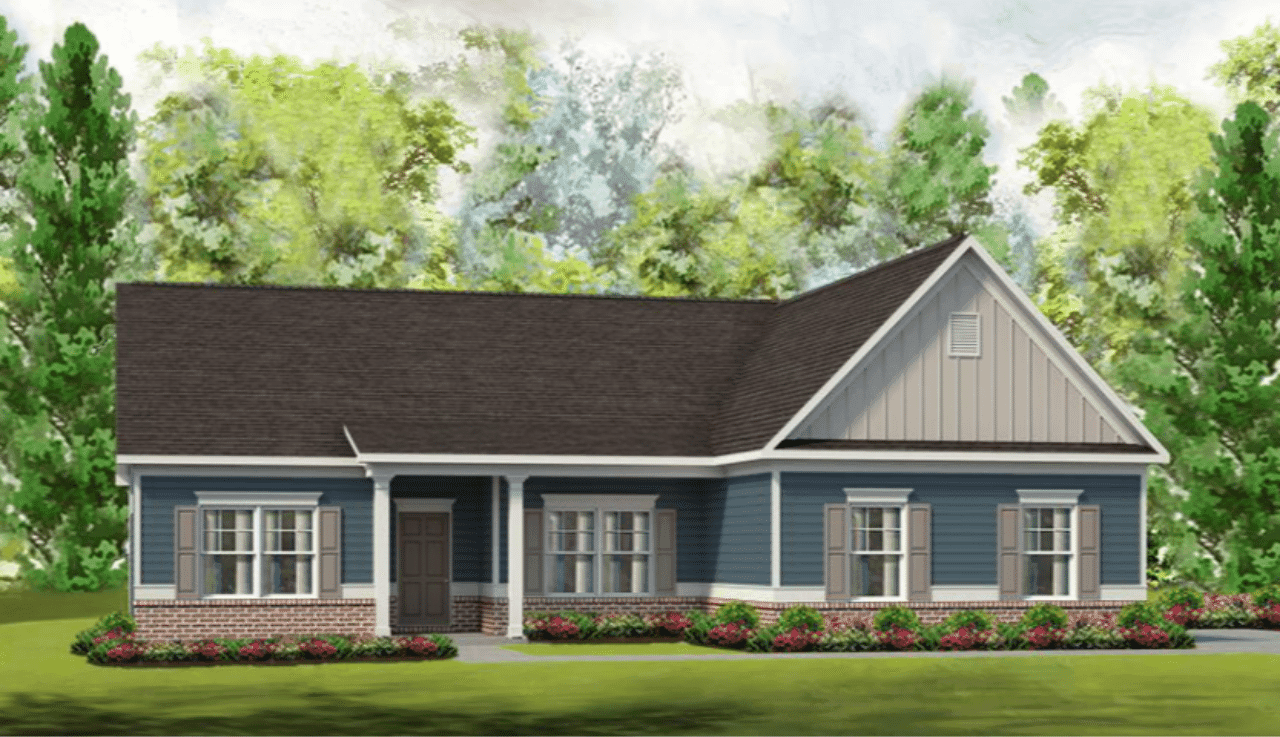 Exterior featured in The Vinings By Smith Douglas Homes in Raleigh-Durham-Chapel Hill, NC