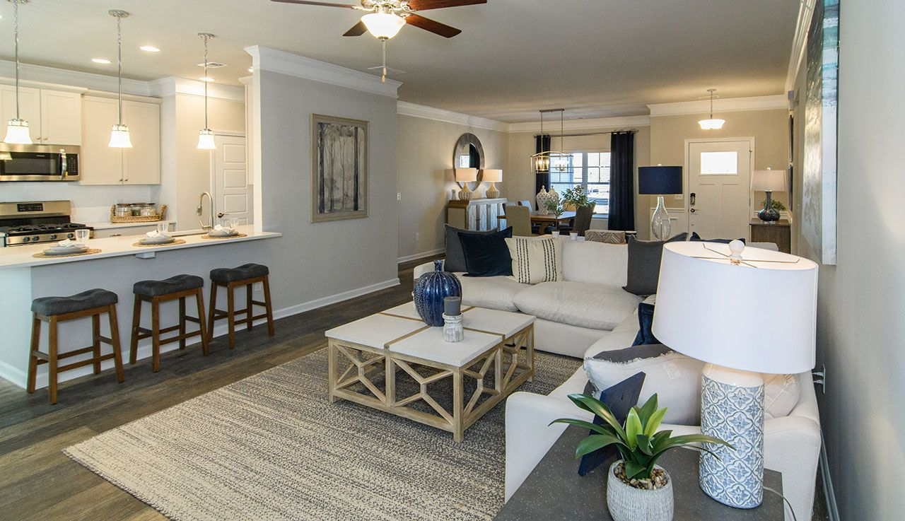 Living Area featured in The Vinings By Smith Douglas Homes in Huntsville, AL