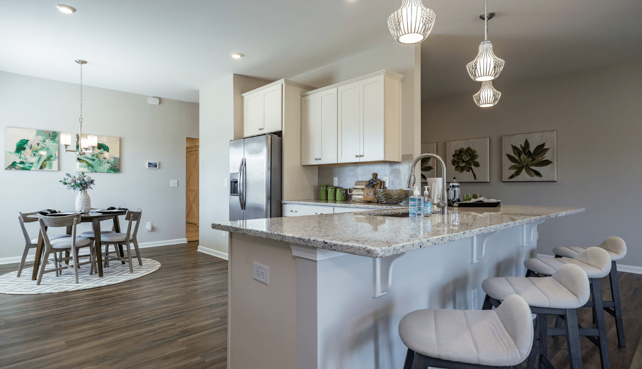 Kitchen featured in The Pruitt By Smith Douglas Homes in Goldsboro, NC