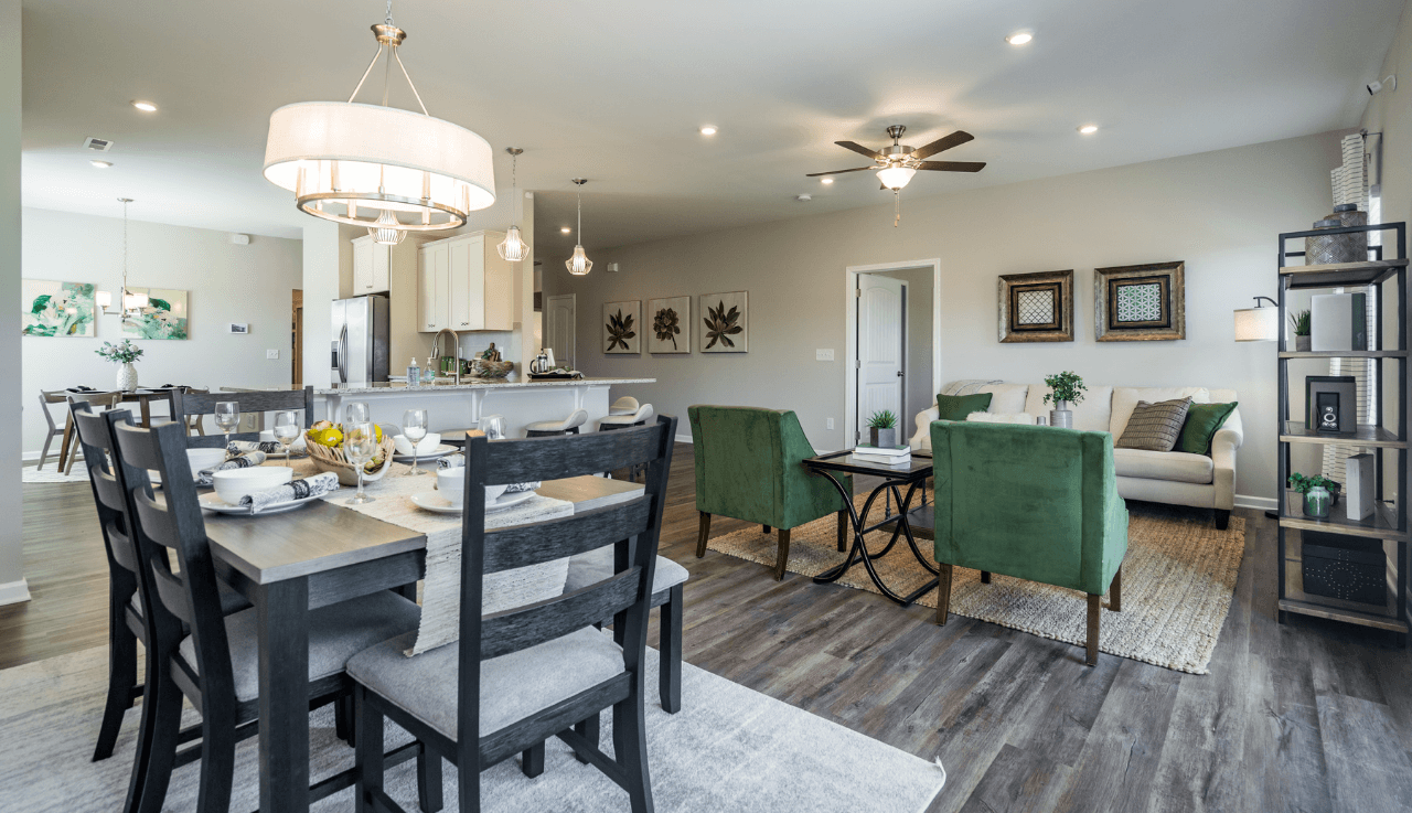 Living Area featured in The Pruitt By Smith Douglas Homes in Goldsboro, NC