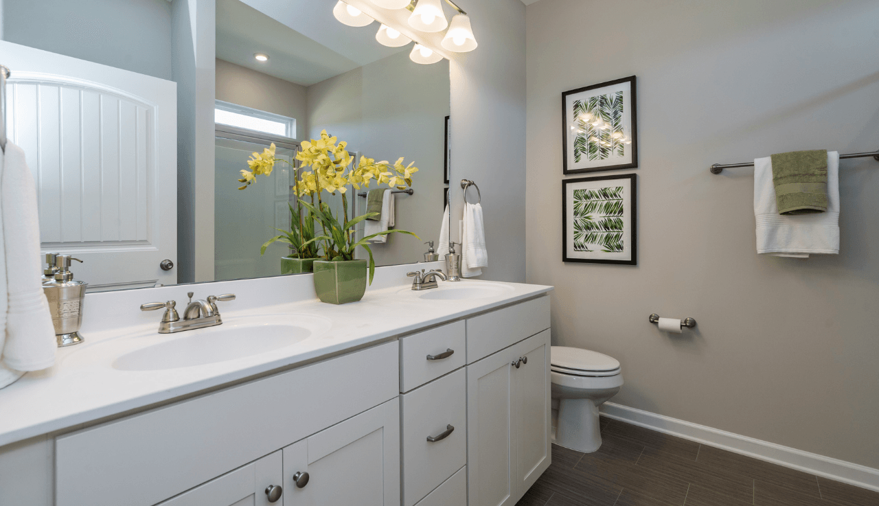 Bathroom featured in The Pruitt By Smith Douglas Homes in Goldsboro, NC