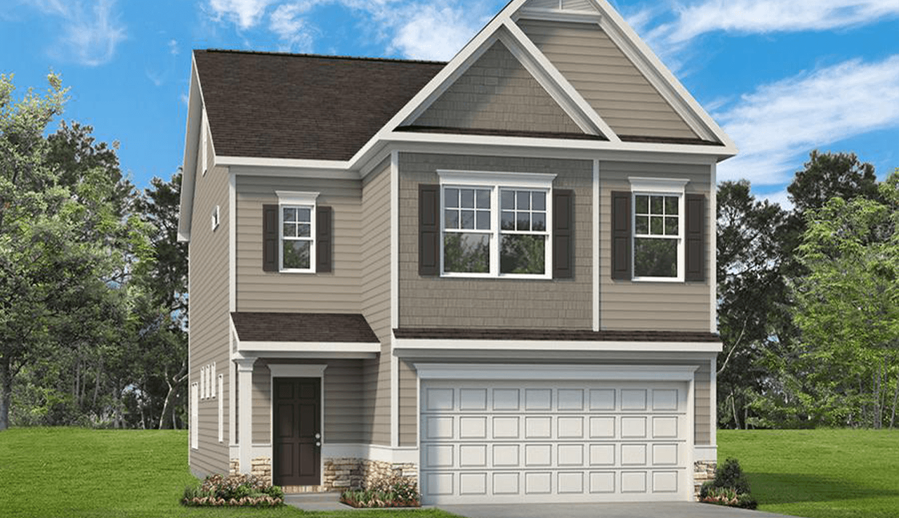 Exterior featured in The Carrington By Smith Douglas Homes in Atlanta, GA