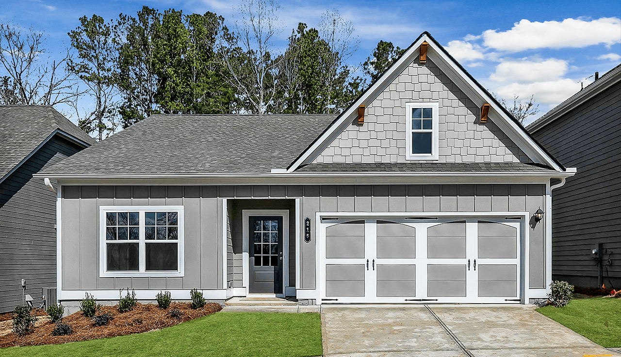Exterior featured in The Campbell By Smith Douglas Homes in Atlanta, GA