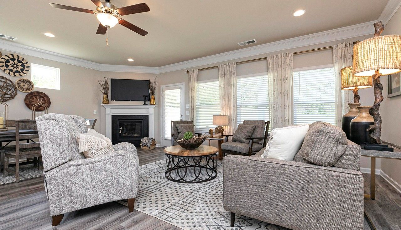 Living Area featured in The Campbell By Smith Douglas Homes in Atlanta, GA