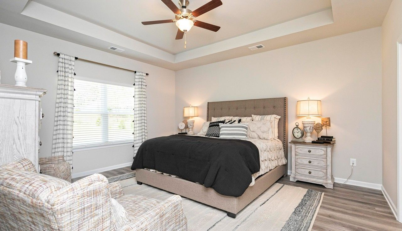 Bedroom featured in The Campbell By Smith Douglas Homes in Atlanta, GA