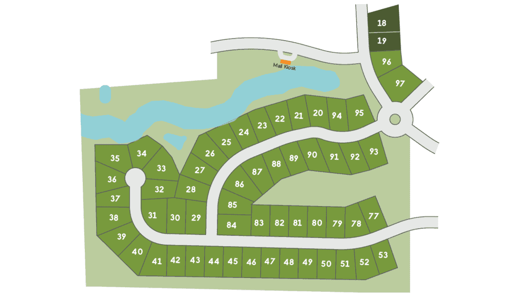 Phase 2 Lot Map