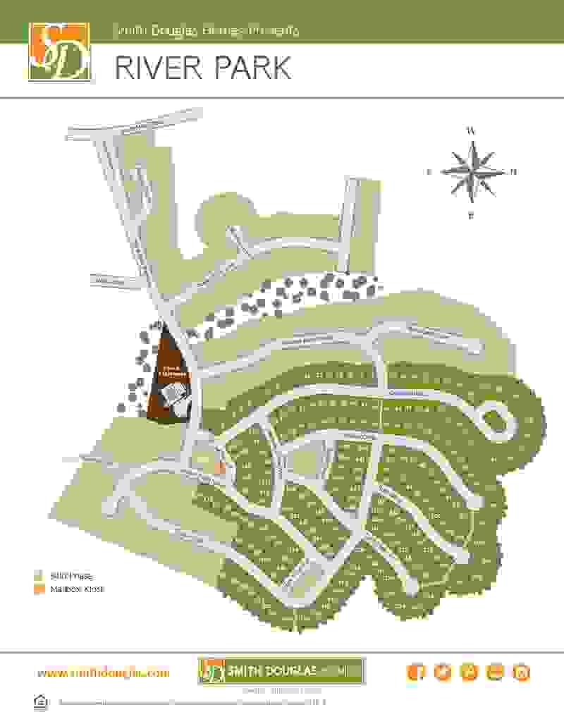 River Park Sitemap