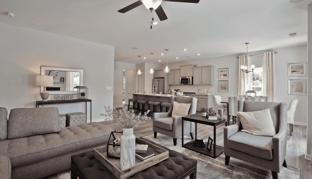 Cozy Living Areas