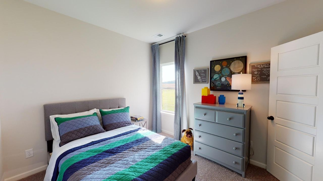 Bedroom featured in The Telfair By Smith Douglas Homes in Huntsville, AL