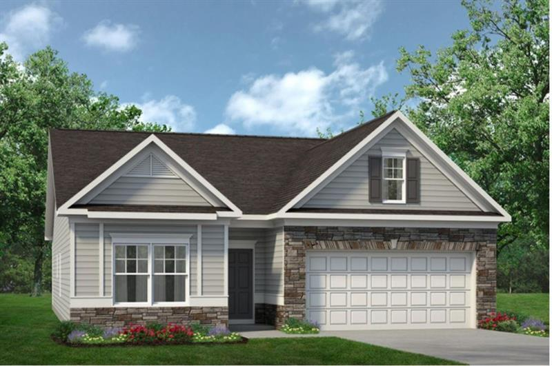 Exterior featured in The Bayfield By Smith Douglas Homes in Macon, GA