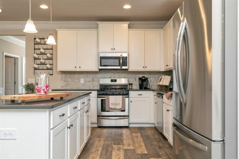 Kitchen featured in The Bayfield By Smith Douglas Homes in Macon, GA