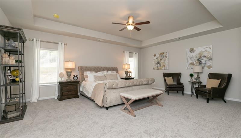 Bedroom featured in The Buffington By Smith Douglas Homes in Macon, GA