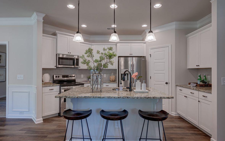 Kitchen featured in The Lanier By Smith Douglas Homes in Huntsville, AL