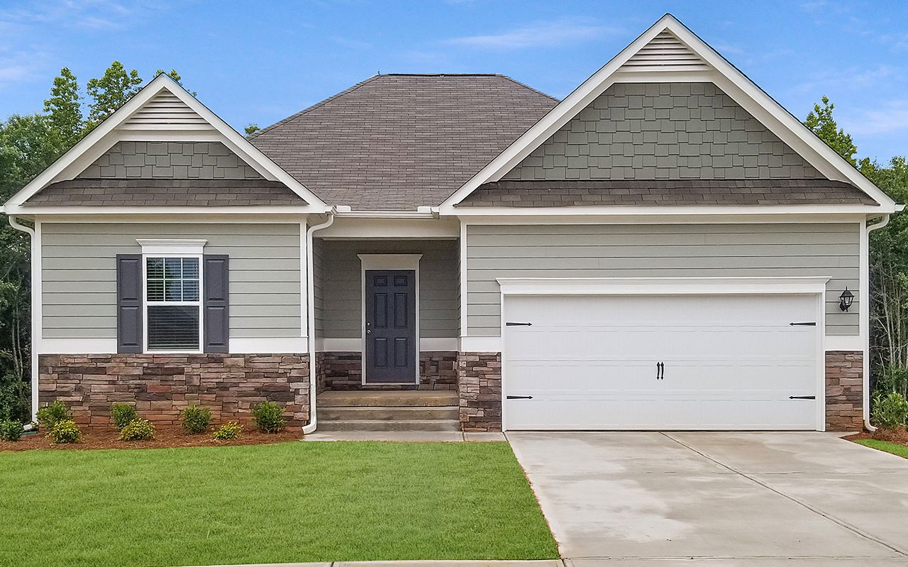 Exterior featured in The Lathem By Smith Douglas Homes in Birmingham, AL