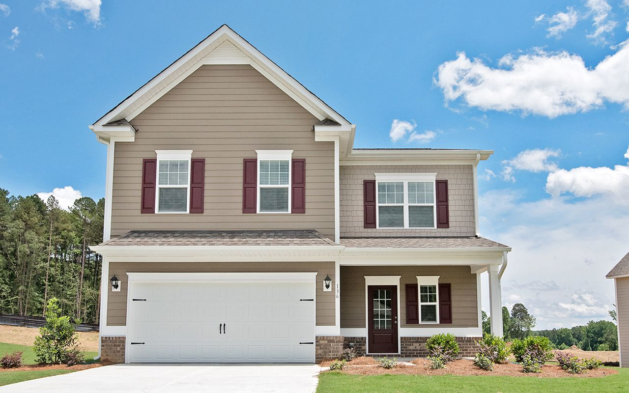 Exterior featured in The McPherson By Smith Douglas Homes in Birmingham, AL
