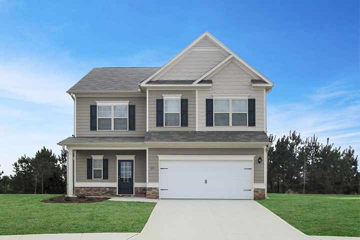 Exterior featured in The Benson By Smith Douglas Homes in Anniston, AL