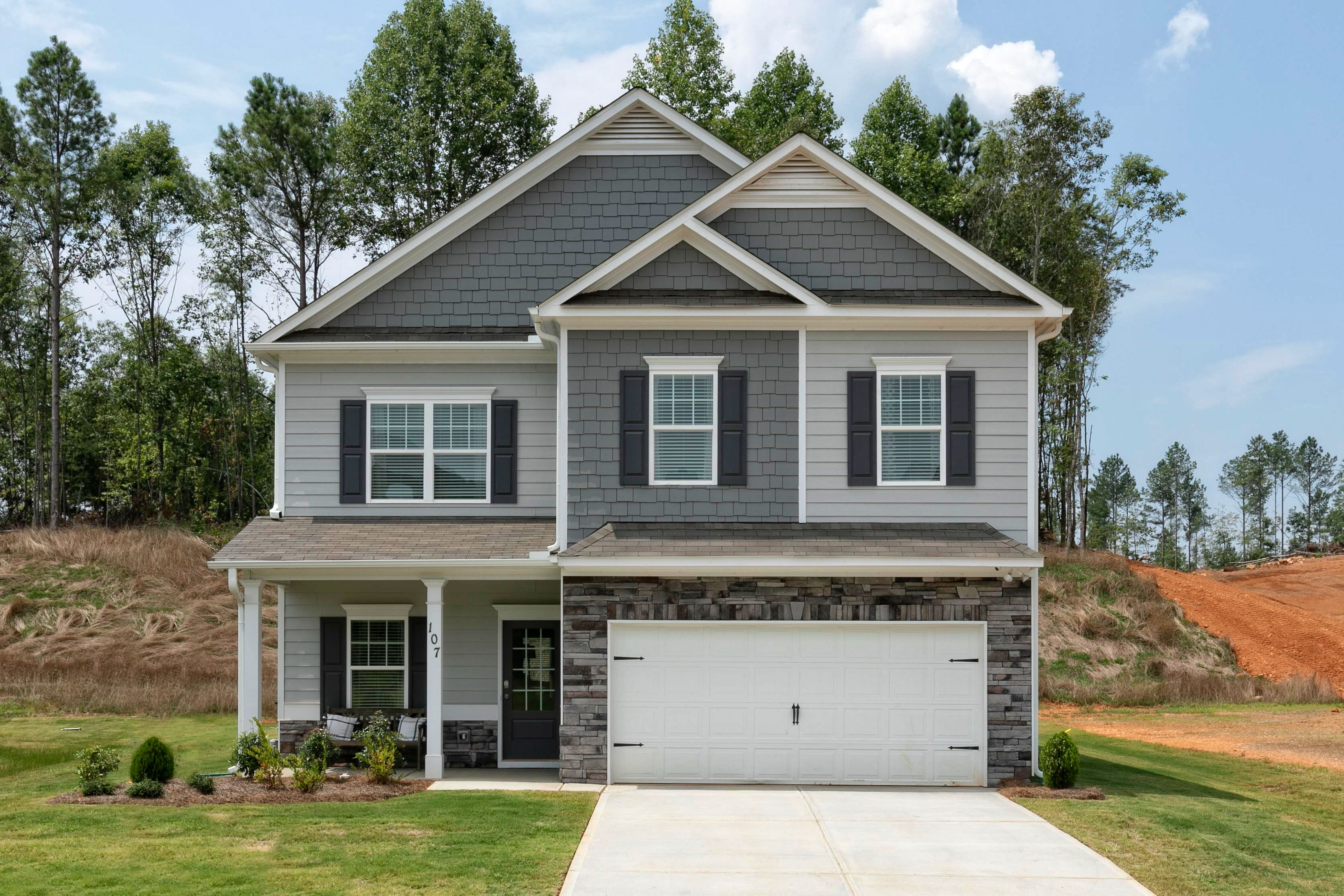 Exterior featured in The Buffington By Smith Douglas Homes in Anniston, AL