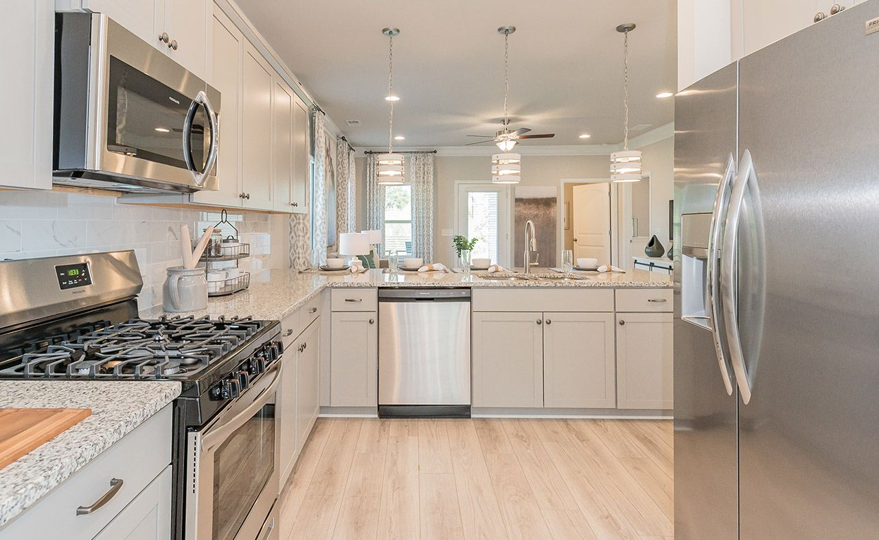 Kitchen featured in The Carlyle By Smith Douglas Homes in Anniston, AL