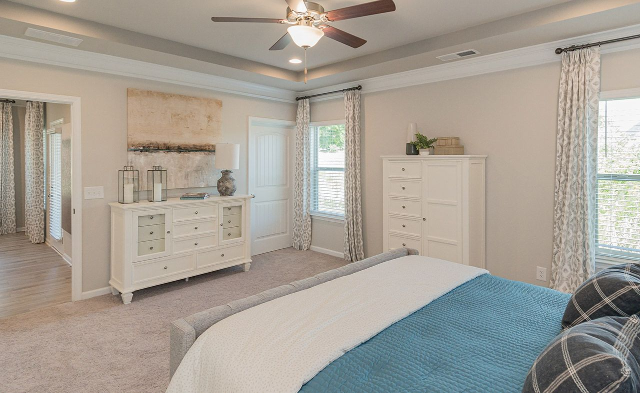 Bedroom featured in The Carlyle By Smith Douglas Homes in Anniston, AL
