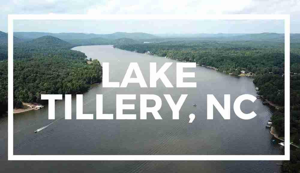 Nearby Lake Tillery