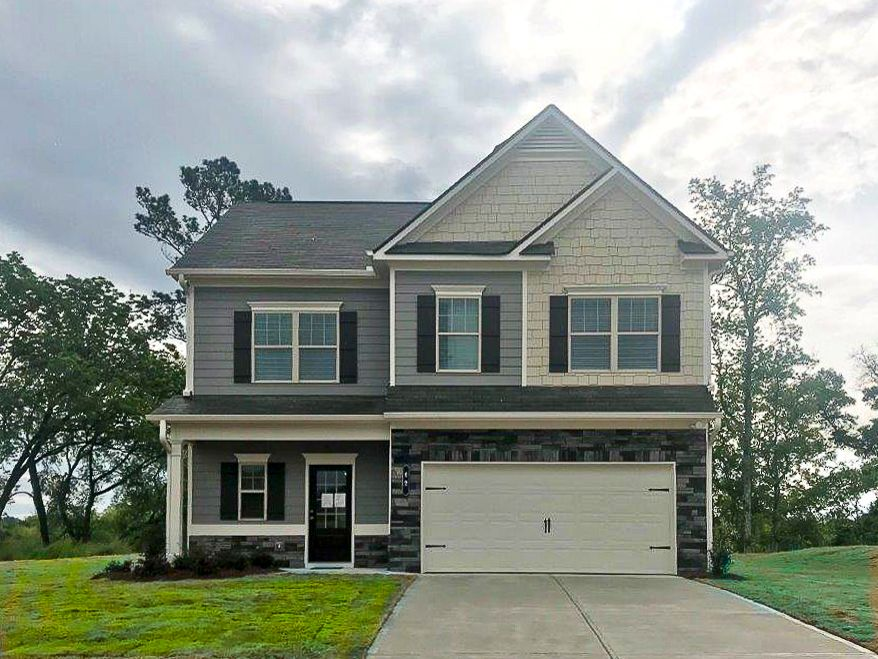 Exterior featured in The Benson By Smith Douglas Homes in Birmingham, AL