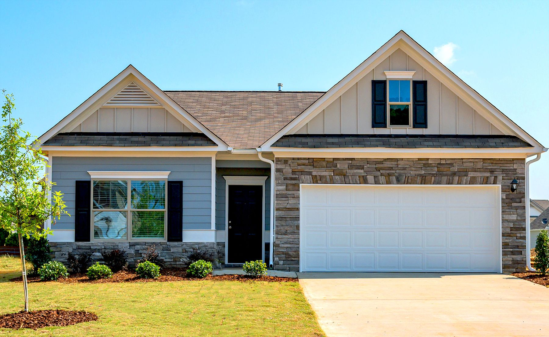 Exterior featured in The Crawford By Smith Douglas Homes in Anniston, AL