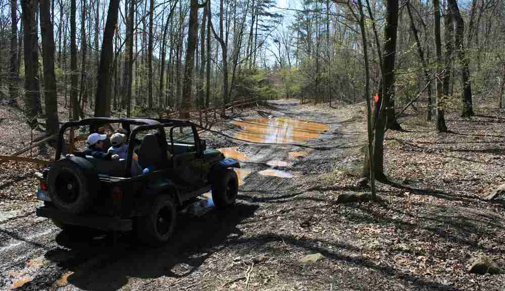 Nearby Uwharrie National Forest