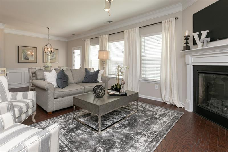 Living Area featured in The Oxford A By Smith Douglas Homes in Atlanta, GA