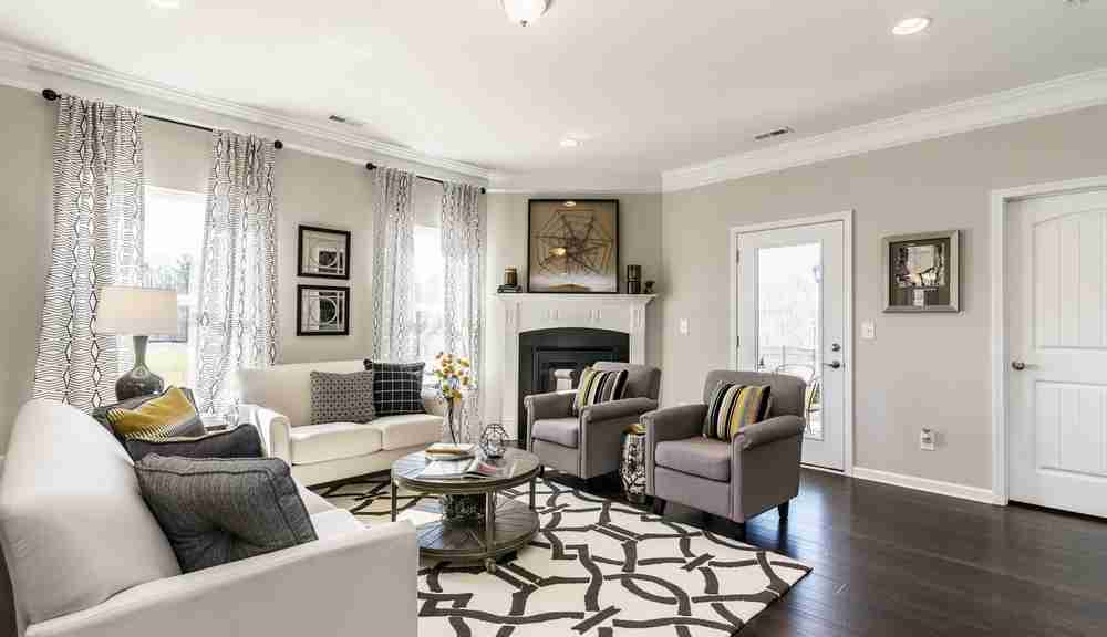 The Carlyle - Living Room