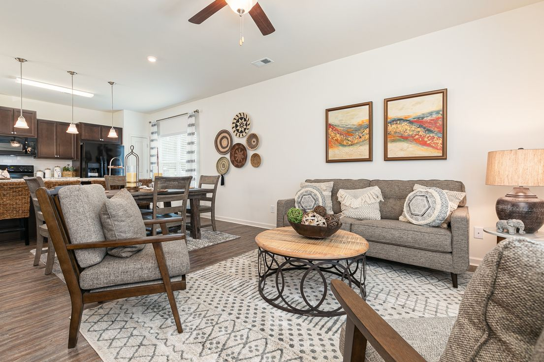Living Area featured in The Foxcroft By Smith Douglas Homes in Goldsboro, NC