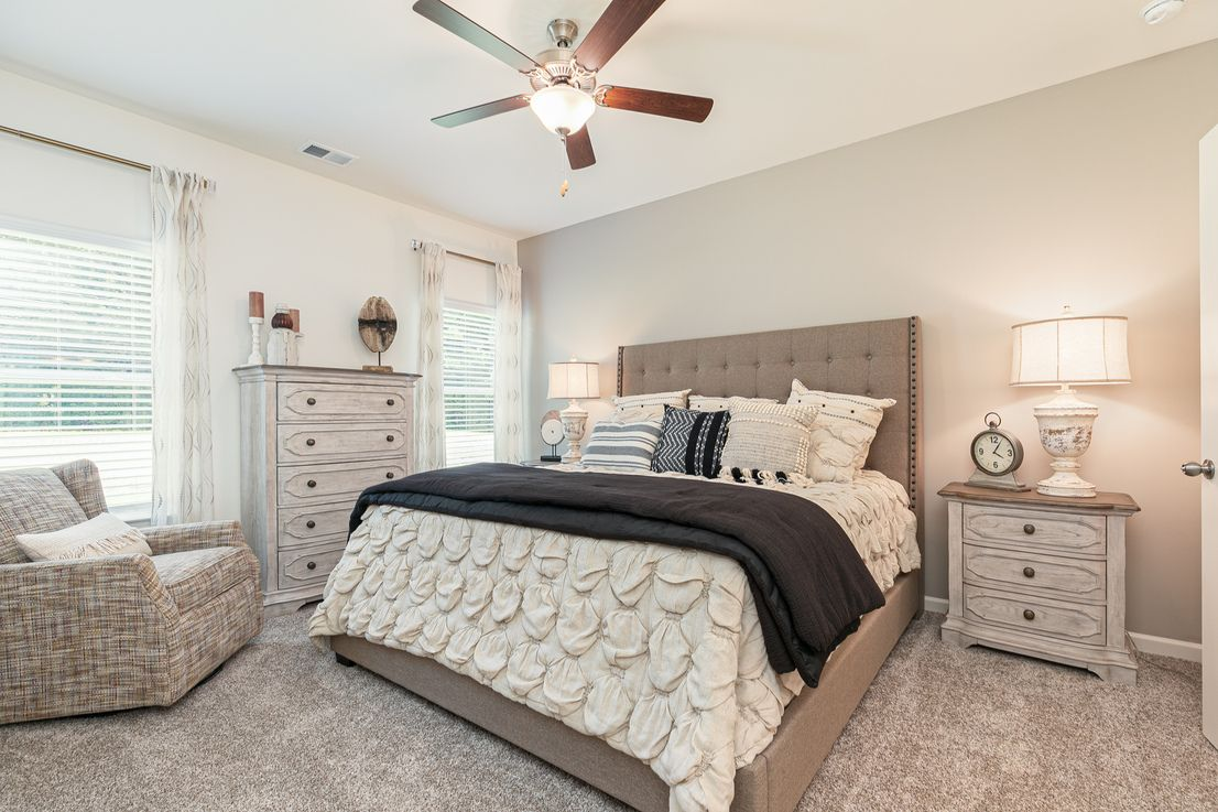 Bedroom featured in The Foxcroft By Smith Douglas Homes in Goldsboro, NC