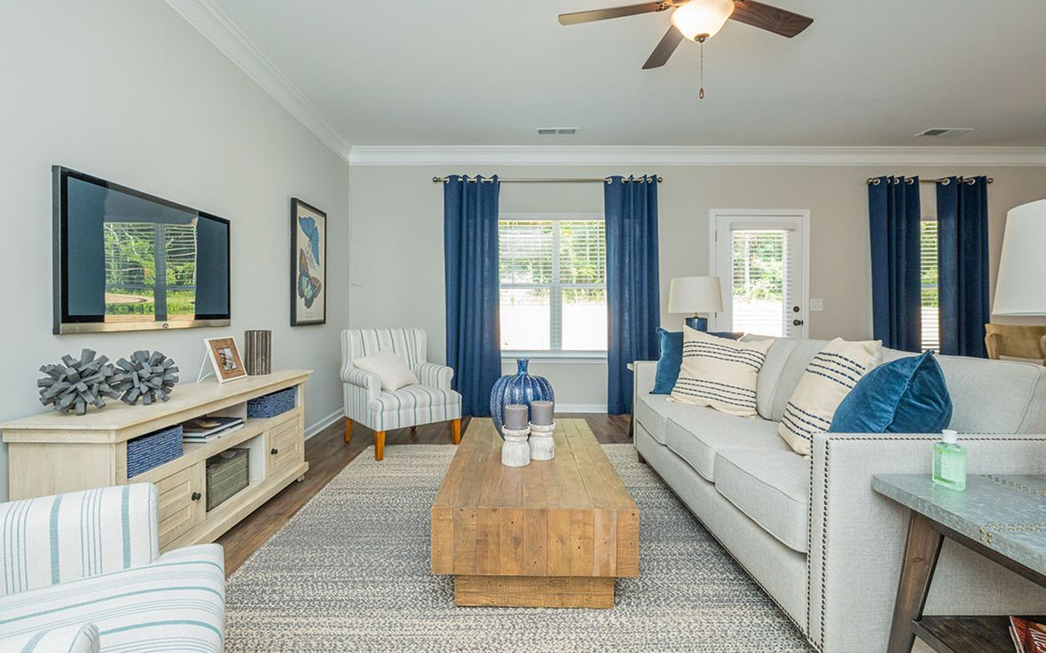 Living Area featured in The Phoenix By Smith Douglas Homes in Goldsboro, NC