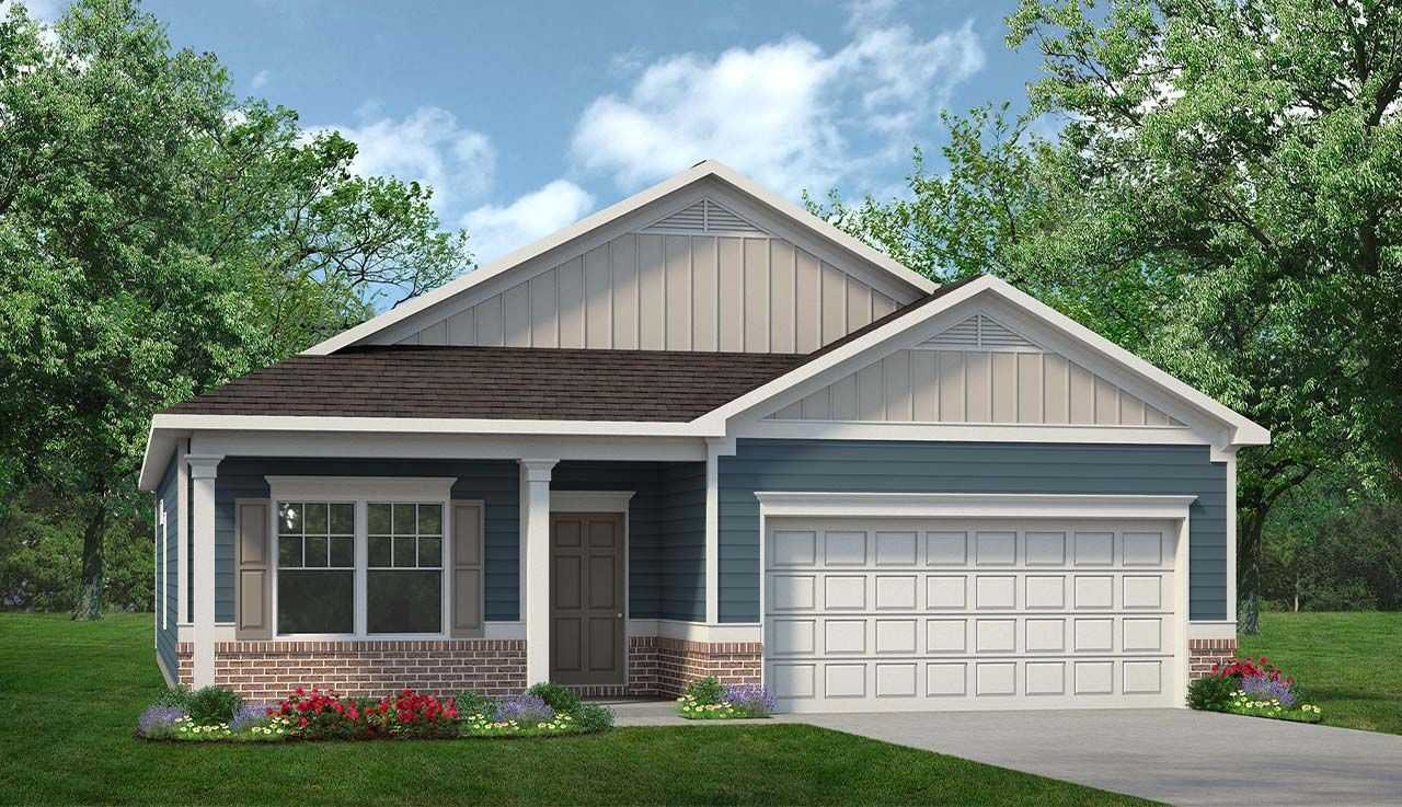 Exterior featured in The Pearson By Smith Douglas Homes in Chattanooga, GA